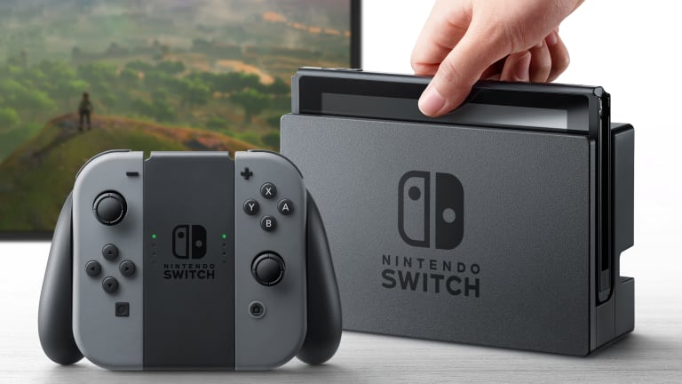 Nintendo unveils their new console, Switch