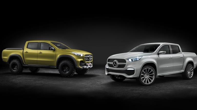 Mercedes unveils their X-Class Pickup Truck Concept