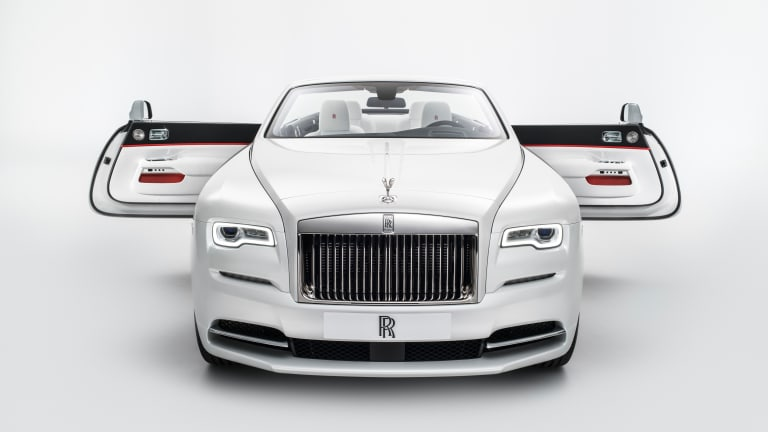 Rolls Royce takes a page out of the fashion world playbook with its Spring/Summer '17 collection