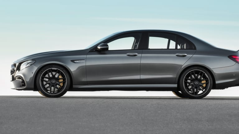 Mercedes unveils the fastest E-Class of all time