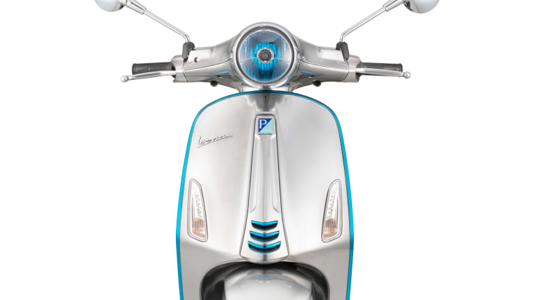 Vespa ditches the gas tank with the Elettrica concept