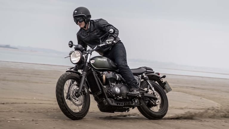 Triumph pushes customization and versatility in their new Street Scrambler