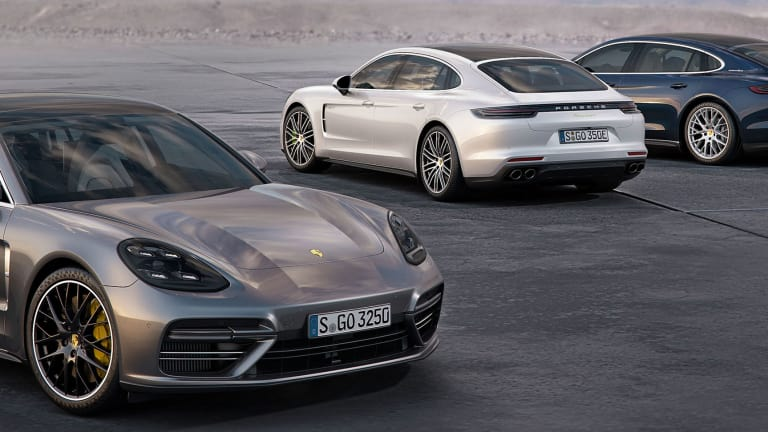 Porsche expands its next-gen Panamera lineup with a V6 and long wheelbase model