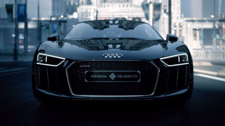 Audi announces the release of the 1 of 1 Final Fantasy R8