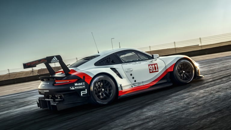 Porsche readies a new 911 RSR for next year's Le Mans
