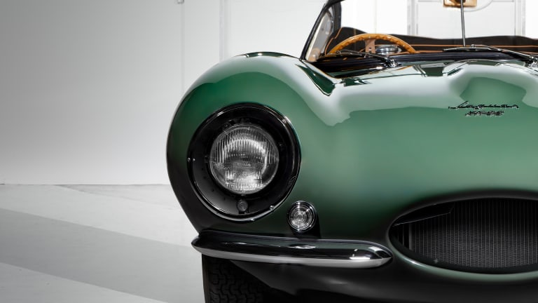 Jaguar resurrects the 1957 XKSS