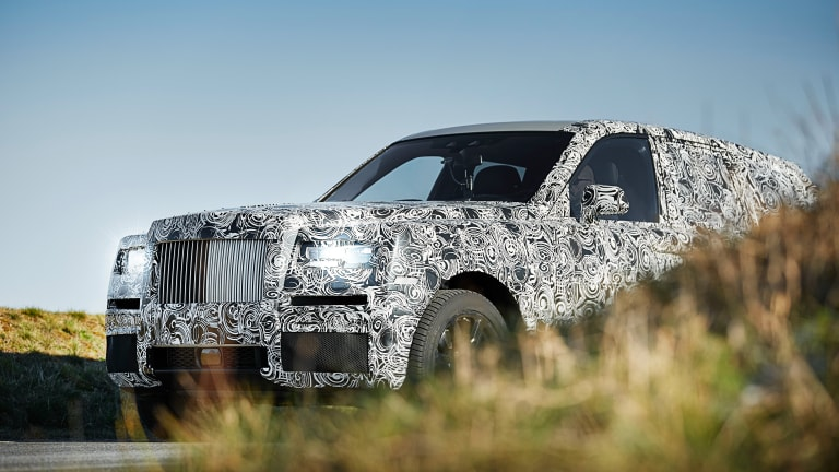 Rolls-Royce teases Project Cullinan