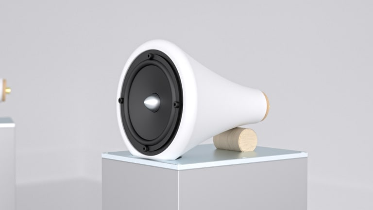 Joey Roth's Ceramic Speakers get updated into a full hi-fi sound system