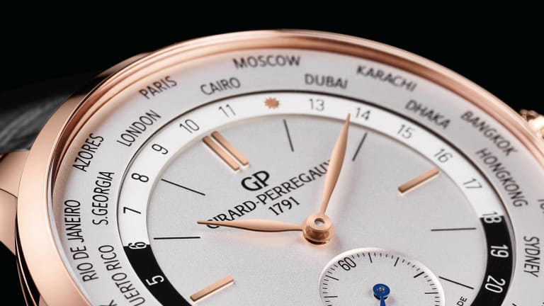 Girard-Perregaux brings its globetrotting WW.TC complication to the 1966