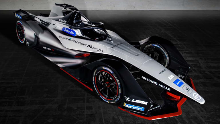 Nissan debuts one of the best looking Formula E Gen2 cars yet