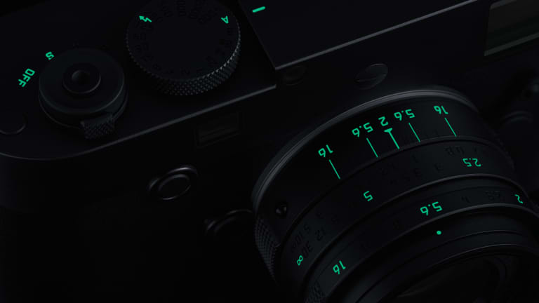 Leica and Marcus Wainwright of Rag & Bone announce the M Monochrom 'Stealth Edition'