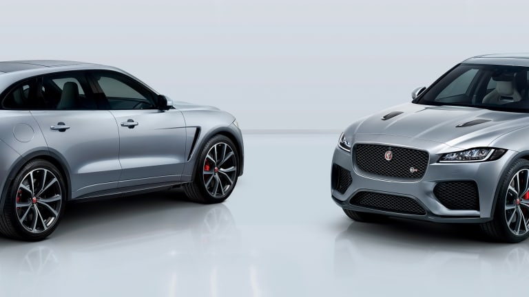 Jaguar's F-Pace gets the SVR treatment