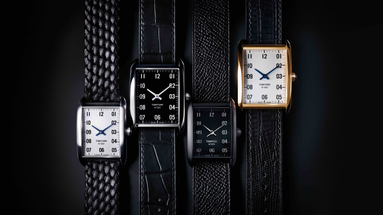 Tom Ford reveals its first watch