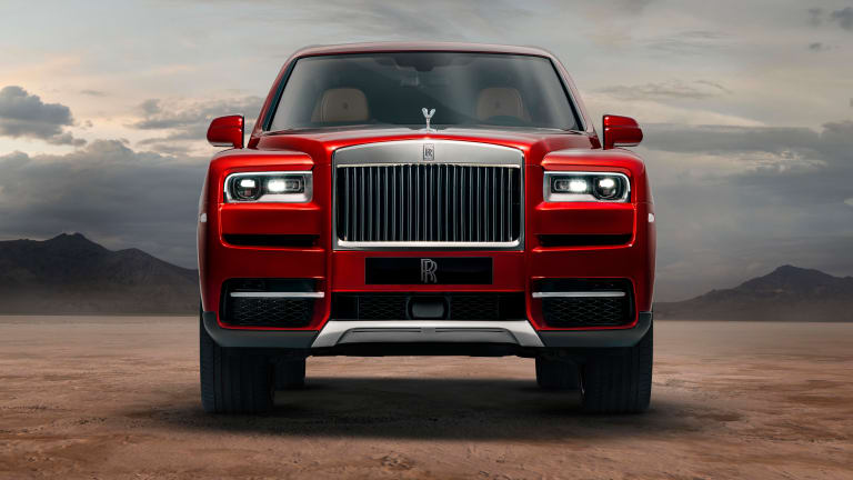 Rolls-Royce reveals its first SUV, the Cullinan