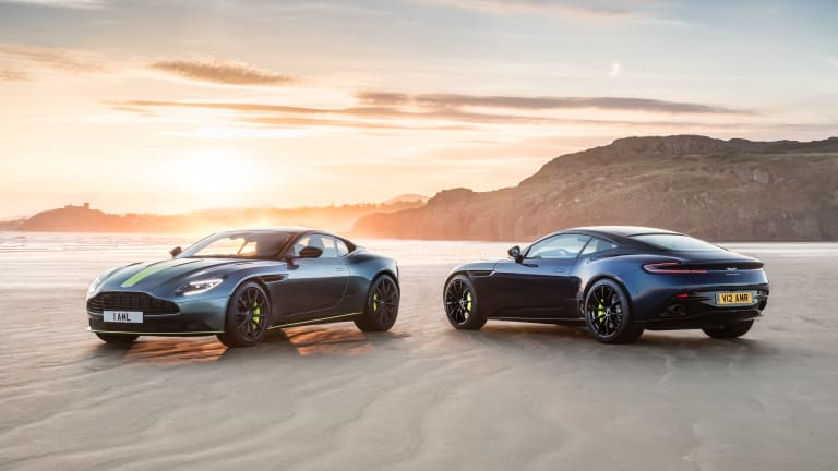 Aston Martin caps its announcement-filled week with the DB11 AMR