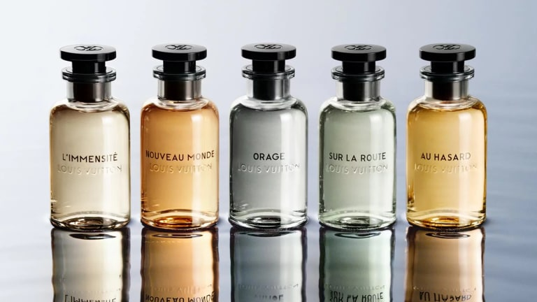 Louis Vuitton launches its first collection of men's fragrances