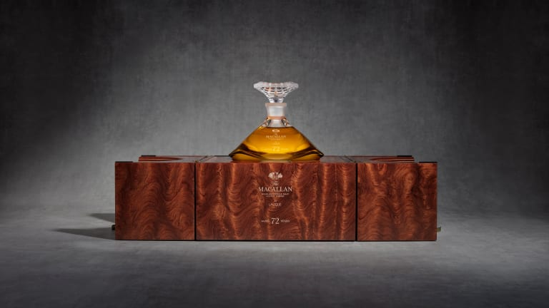 The Macallan unveils the 72 Years Old in Lalique