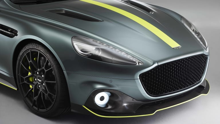 Aston Martin reveals the production version of the Rapide AMR