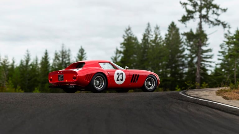 This 1962 Ferrari 250 GTO is expected to fetch more than $45 million dollars at auction