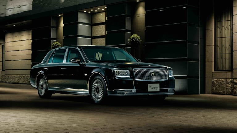 The Toyota Century gets its first major redesign after 21 years