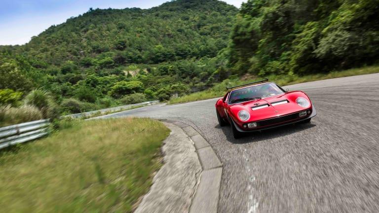 Lamborghini's Polo Storico reveals their latest jaw-dropper, a beautifully restored Miura SVR