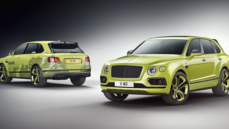 Bentley releases a limited edition Pikes Peak Bentayga
