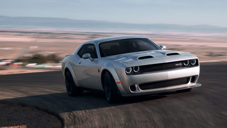 Dodge unveils the 203 mph Hellcat Redeye