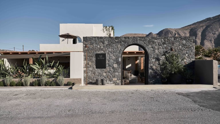 Istoria brings a new beachside retreat to Santorini