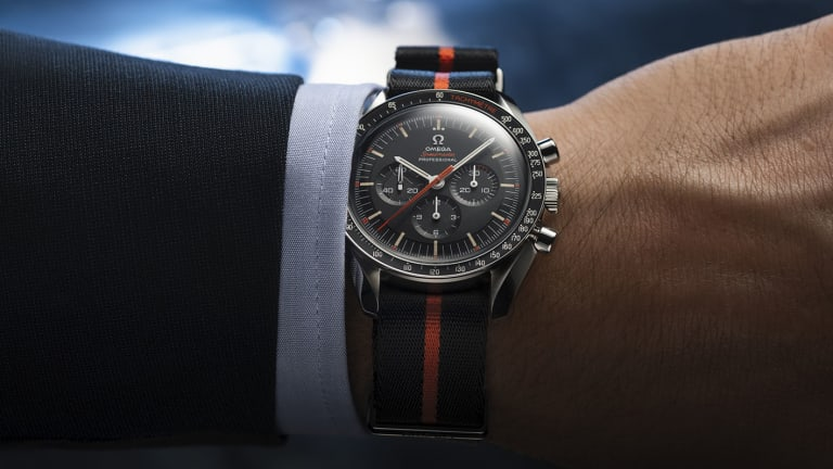 Omega celebrates Speedy Tuesday with an Ultraman-inspired Speedmaster