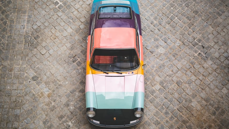 The Porsche 911 is the latest car to get the Paul Smith treatment