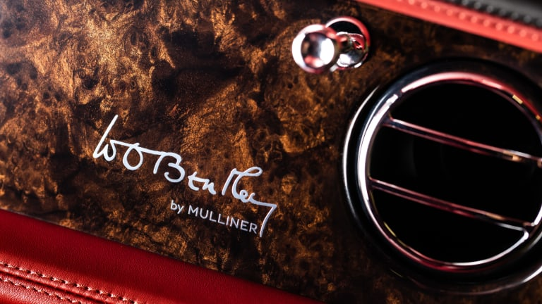 Bentley pays homage to its founder with the Mulsanne W.O. Edition