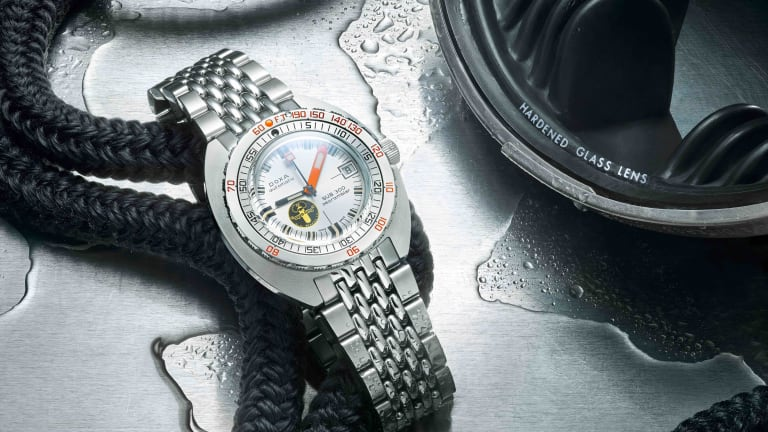Doxa releases its Sub 300 Searambler 'Silver Lung'