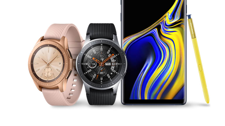 Samsung announces the Galaxy Note9 and the new Galaxy Watch