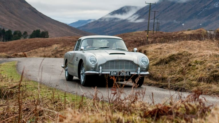 Aston Martin has announced plans to build 25 Goldfinger DB5 continuation cars