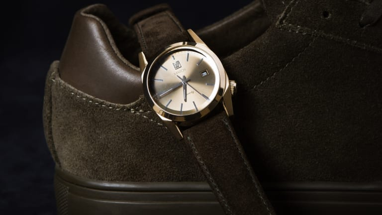 Clae releases a collaboration with French watch brand March LA.B