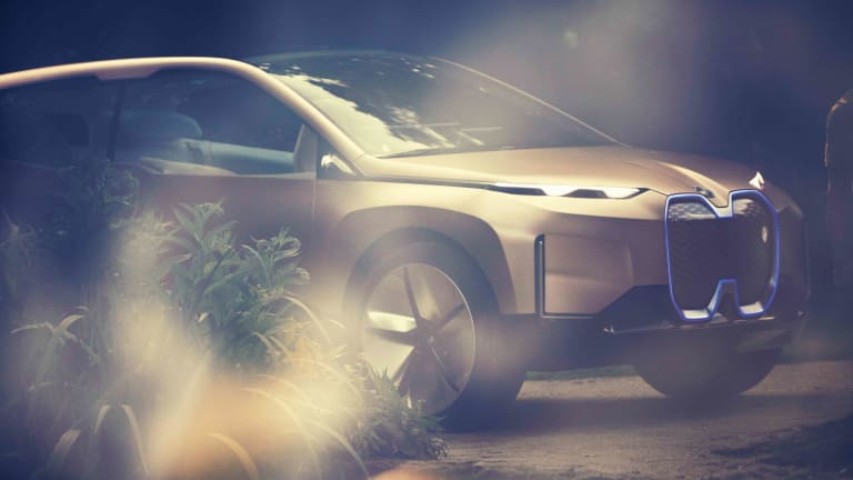 BMW i's latest concept previews a high-tech flagship SUV