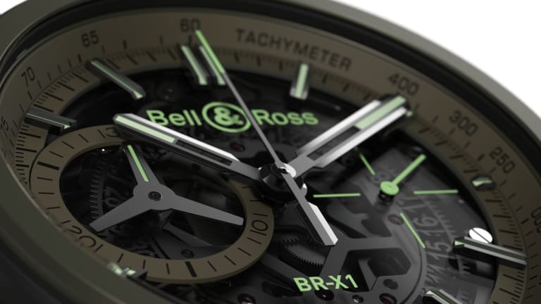 Stealth fighter planes inspire Bell & Ross' BR-X1 Military
