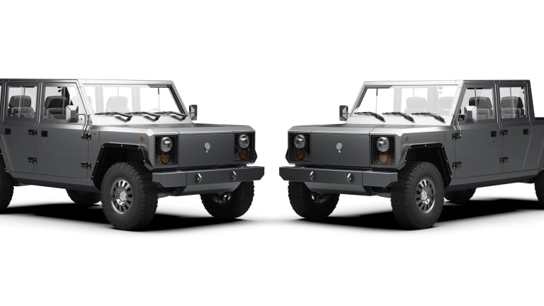 Bollinger previews its all-electric B2 Pickup
