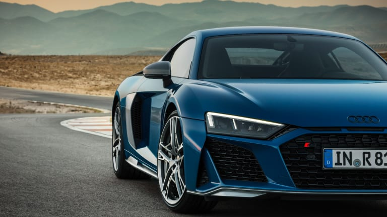 The 2019 Audi R8 gets a new face and even more power