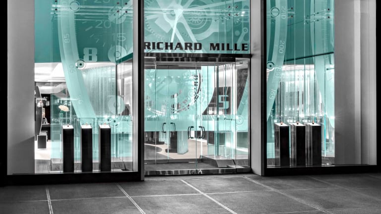Richard Mille heads to the Big Apple to open its largest boutique in the world