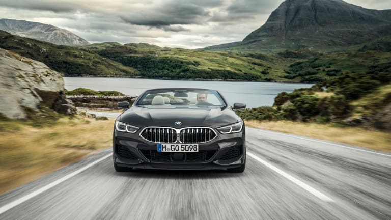 BMW reveals its first-ever 8 Series convertible