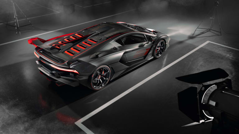 Lamborghini reveals the SC18 Alston, Squadra Corse's first one-off