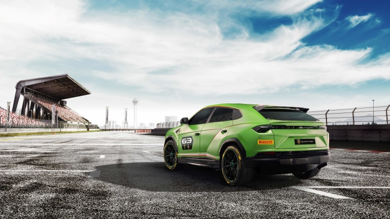 Lamborghini is creating its own racing league for the Urus SUV