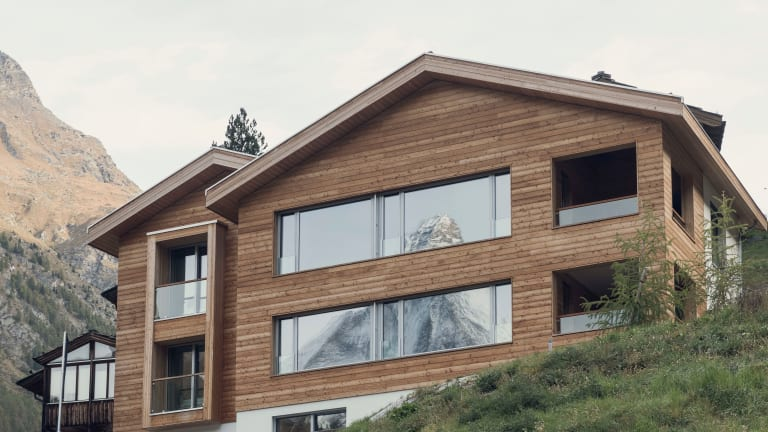 Overlook Lodge opens this December at one of Switzerland's most iconic ski resorts