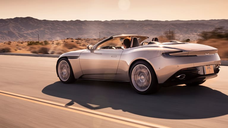 Aston Martin reveals the DB11 Volante