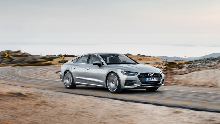 Audi's four-door coupe gets an all new look
