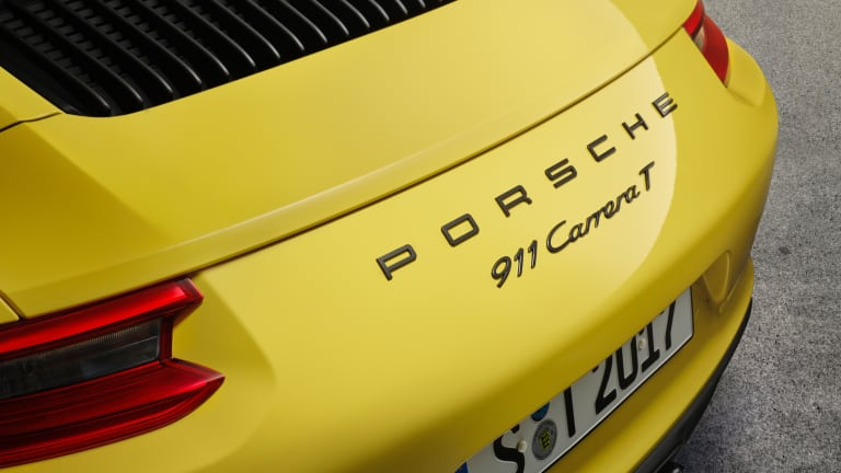Porsche revives the 911 Carrera T