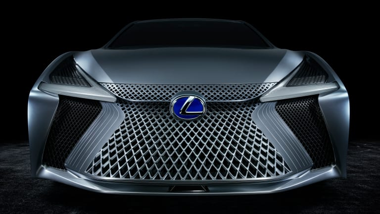 The Lexus LS+ concept previews the luxury brand's autonomous efforts