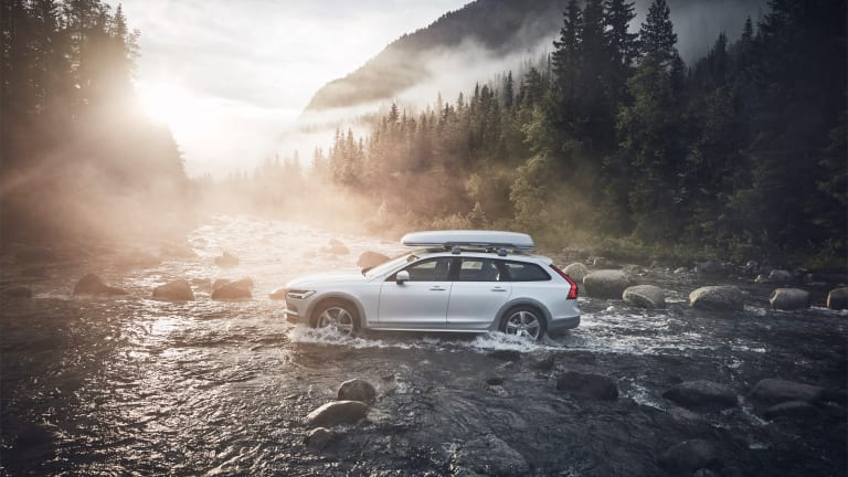 Volvo launches into this year's Ocean Race with a special edition V90 Cross Country