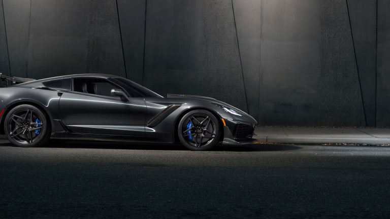 Chevrolet debuts its most powerful Corvette ever